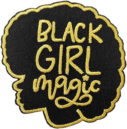 Black Girl Magic Sew on Patch Sew on Black Girl Magic patch.