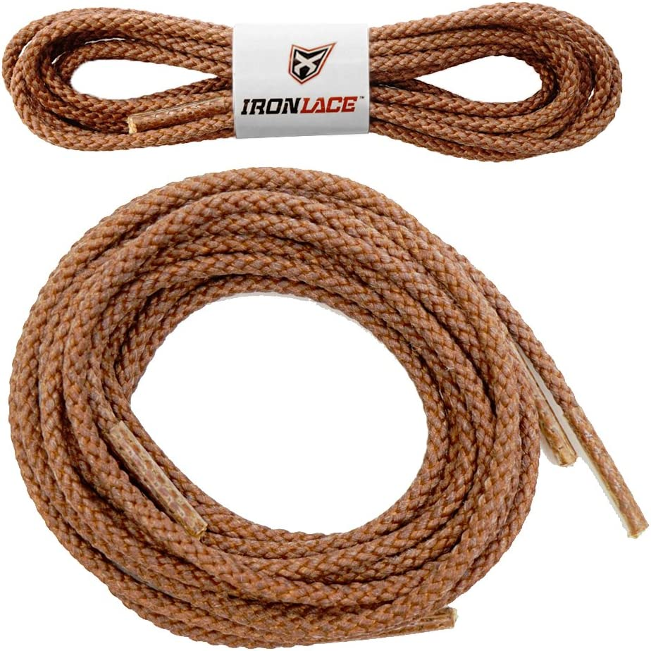 "Unbreakable Extra Heavy Duty Round Boot Laces Shoelaces 45"": Sports & Outdoors"