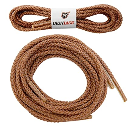 f7a1aaf19a Amazon.com: Unbreakable Extra Heavy Duty Round Boot Laces Shoelaces 54