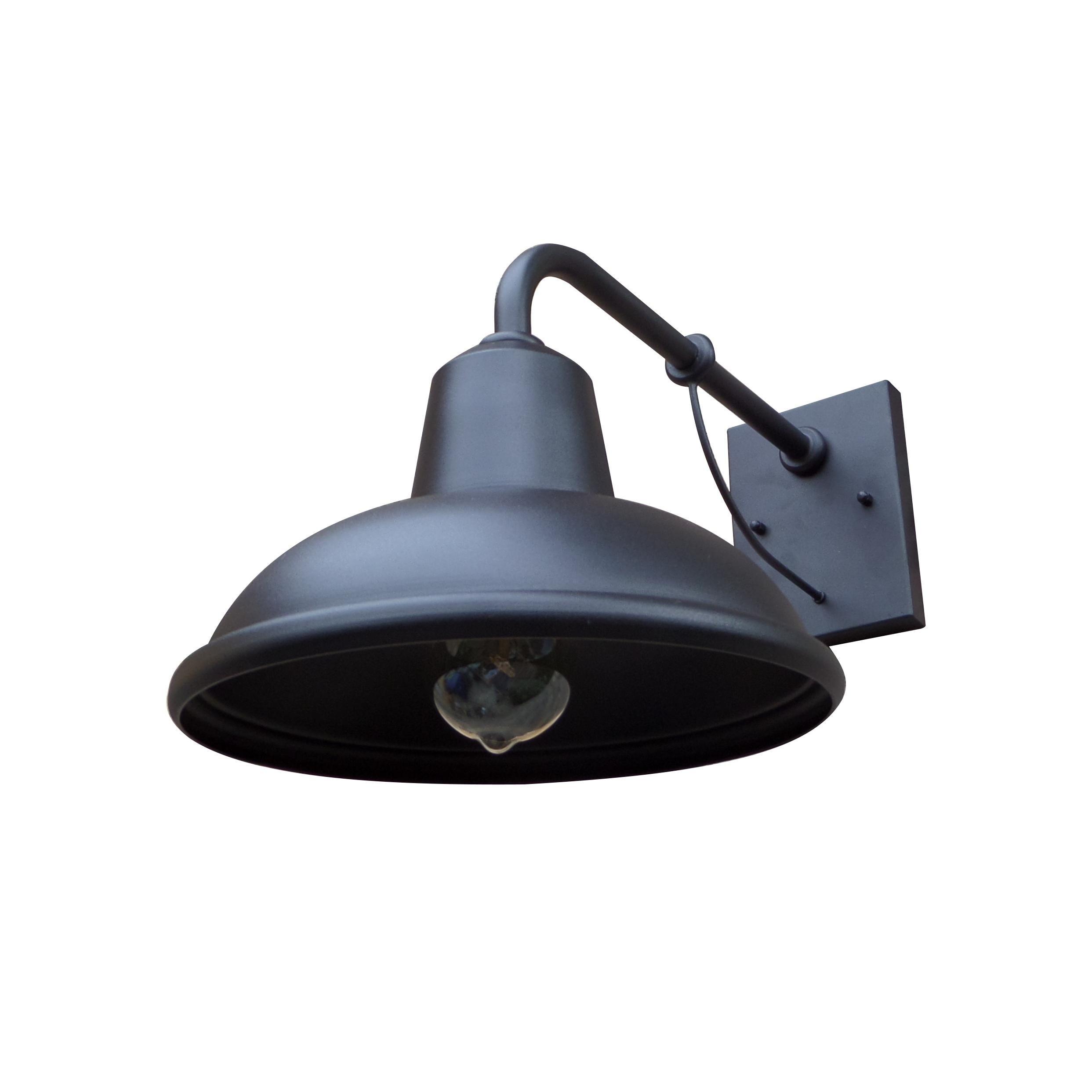 Y-Decor EL94BL Tanner 1 Exterior Lighting, Black