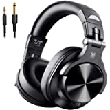 OneOdio 高性能 ヘッドホン Bluetooth モニターヘッドホン 音源ミックス 音楽シェア 低音強化 有線 無線 密閉型 FuSion A7
