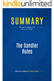 Summary: The Sandler Rules: Review and Analysis of Mattson's Book