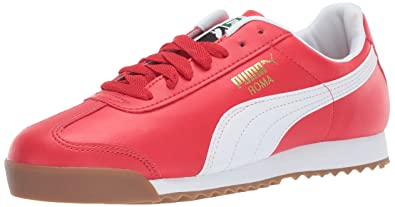 PUMA Men s Roma Basic Sneaker high Risk red w 4fe94919f
