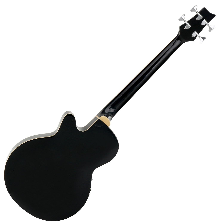 Classic Cantabile AB-40 BK bajo acustico con preamp, negro: Amazon.es: Instrumentos musicales