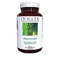 INNATE Response Formulas, Magnesium 300, Mineral Supplement, Vegetarian, 120 Capsules...