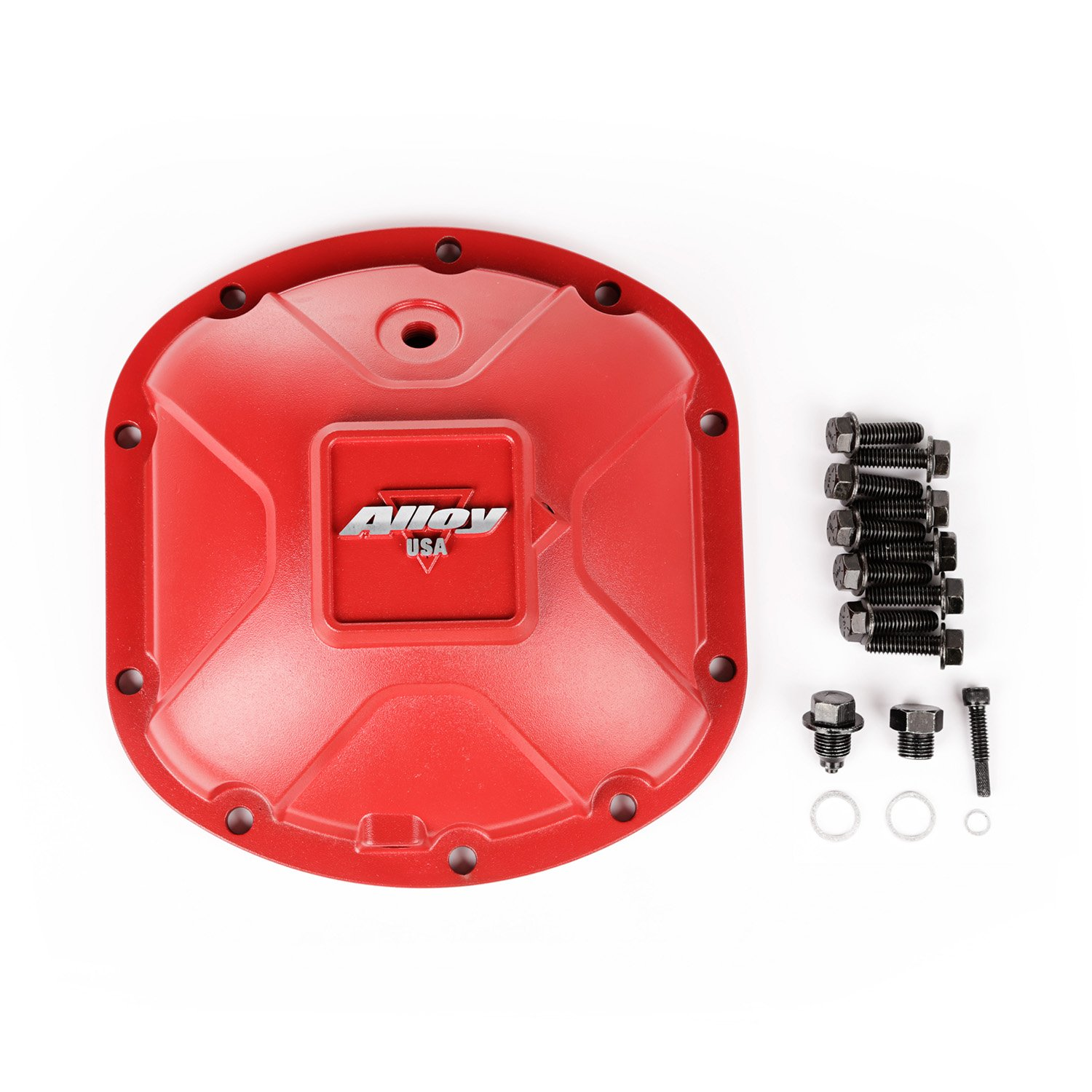 Outland 11210 Red Aluminum Differential Cover for Dana 30, 1 Pack by Outland Automotive