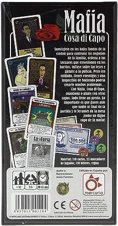 Mercurio Distribuciones- Juego de Estrategia (M0001): Amazon.es: Juguetes y juegos