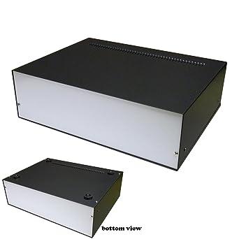 Caja de aluminio para proyectos electrónicos (330 x 250 x 100 mm): Amazon.es: Industria, empresas y ciencia