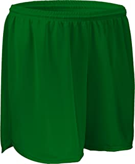 "product image for PT403W 4"" Performance Athletic Solid Sport Running Short with Inner Brief (Large, Kelly Green)"