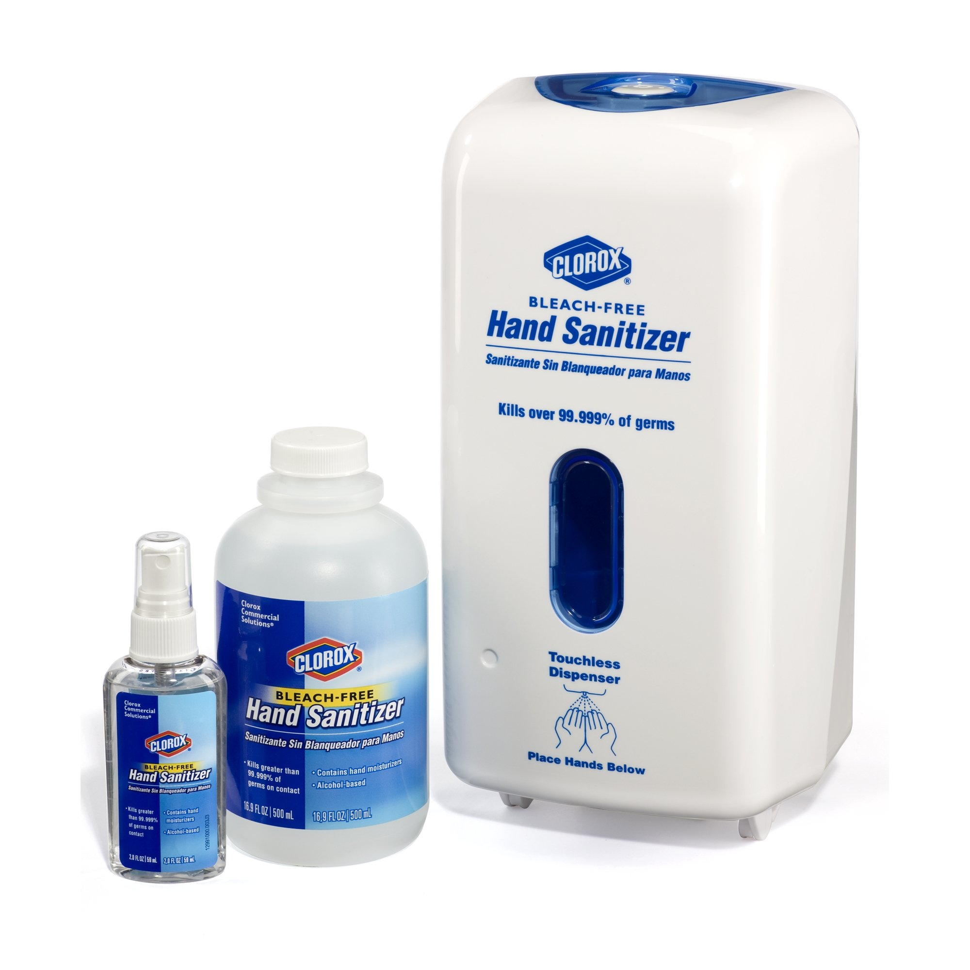 Clorox 30243 Commercial Solutions Touchless Hand Sanitizing Spray Dispenser Refill, 1000 ml by Clorox (Image #5)