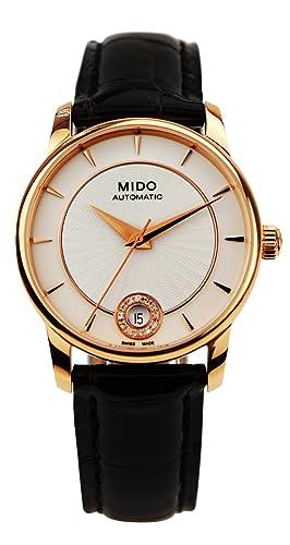 MIDO BARONCELLI III RELOJ DE MUJER DIAMANTE AUTOMÁTICO 33MM M007.207.36.036.00: Mido: Amazon.es: Relojes
