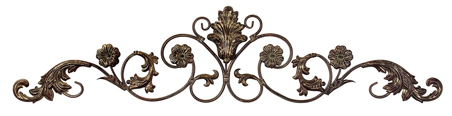 Amazon.com: IMAX Allegra Wall Décor Hanging   Corrosion Resistant, Low  Maintenance Metal Sculpture. Wall Art For Homes, Offices: Home U0026 Kitchen