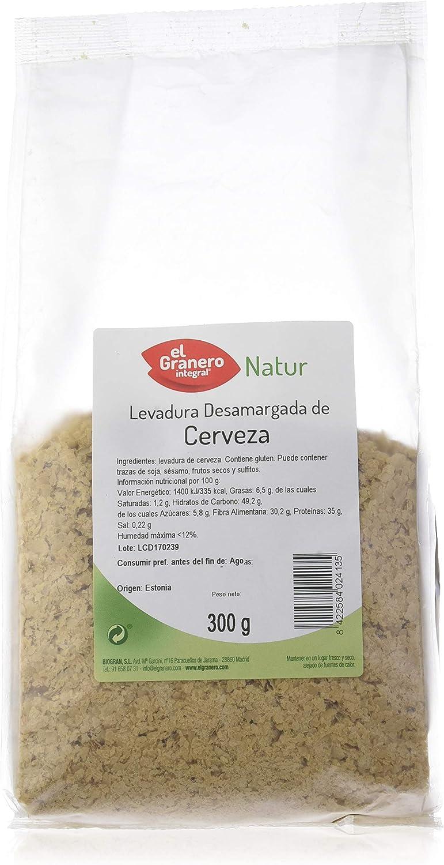 LEVADURA DE CERVEZA DESAMARGADA 300 gr: Amazon.es: Belleza
