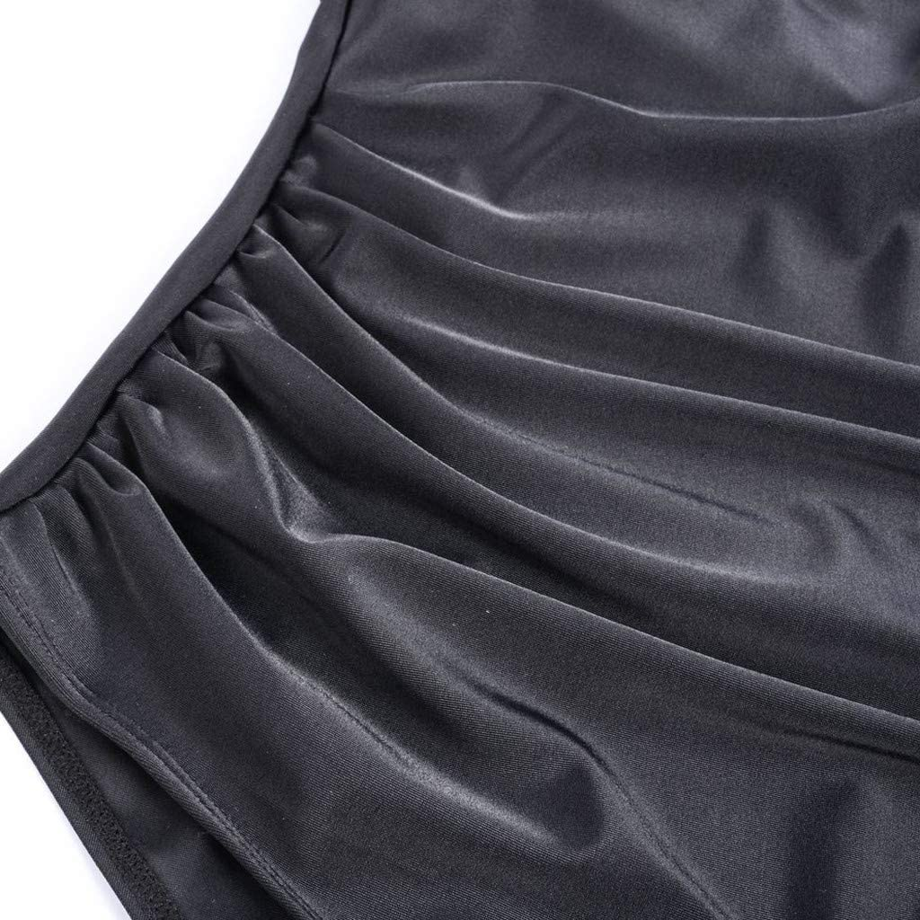 Allence Schwangere Bademode,Umstandsbademode Sommer Badebekleidung Damen Gro/ß Gro/ße Strand Bikini Set Frau Push-Up Badeanzug Schwarz