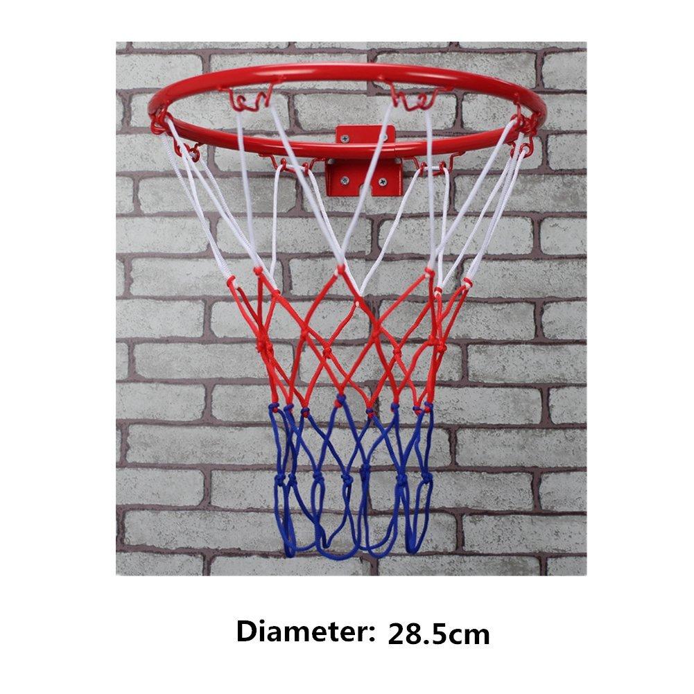 SwirlColor De interior y al aire libre colgantes de pared Meta del baloncesto anillo Junta de arco para niños