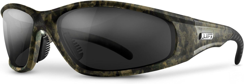 LIFT Safety Strobe Safety Glasses Camo Frame//Amber Lens