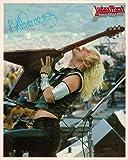 Judas Priest K.K. Downing Licking Guitar Portrait