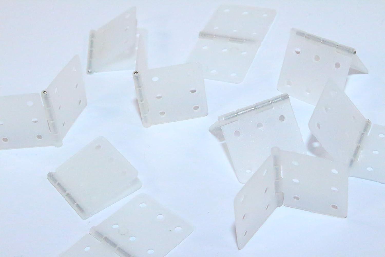 Cerniera tessuto 10 pezzi 25x20mm CERNIERE TIMONE timone giunto ca CERNIERE NUOVO