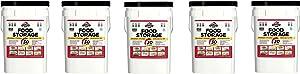 Augason Farms 30-Day Emergency Food Storage Supply 29 lb 4.37 oz 8.5 Gallon Pail (Pack of 5)