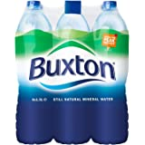 BUXTON Still Mineral Water, 6 x 1.5 Litre