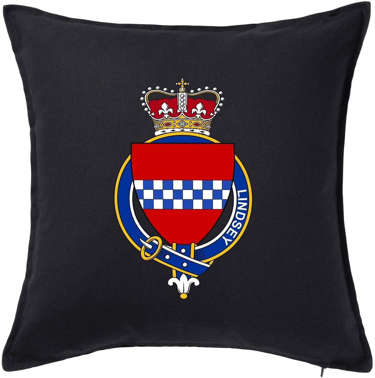 HARD EDGE DESIGN Scottish Garter Family Lindsey Throw Pillow Cover