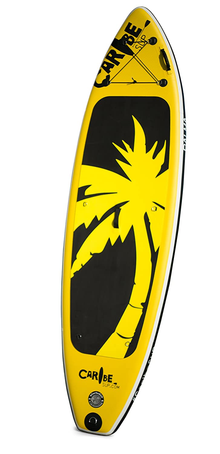 Palma SUP Best Inflatable Stand Up Paddleboard Combo Yellow