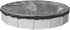 Robelle 5115-4 Ultimate Winter Pool Cover for Round Above Ground Swimming Pools, 15-ft. Round Pool