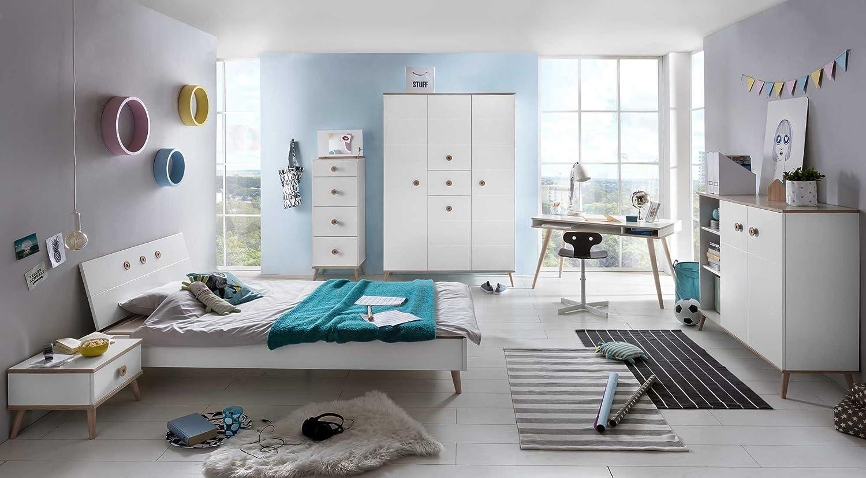 Lifestyle4living Jugendzimmer Komplett Set Jungen Madchen
