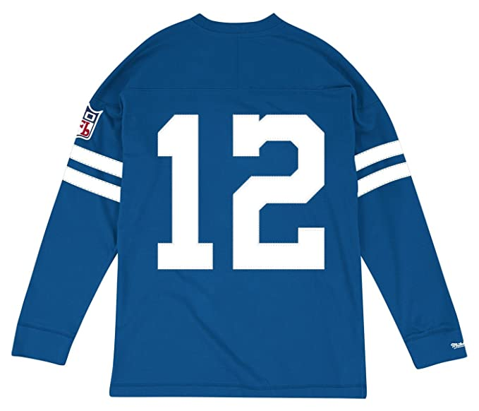 6c4c3b39 Amazon.com : Mitchell & Ness Roger Staubach Dallas Cowboys NFL Men's Go  Long L/S Shirt : Clothing