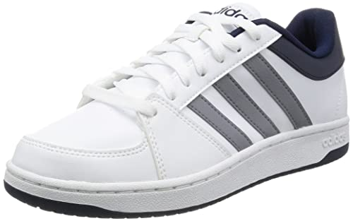 buy online 7a458 b4ef7 Adidas Hoops Vs Scarpe da basketball, Uomo, Bianco (Blanco (Ftwbla   Gris