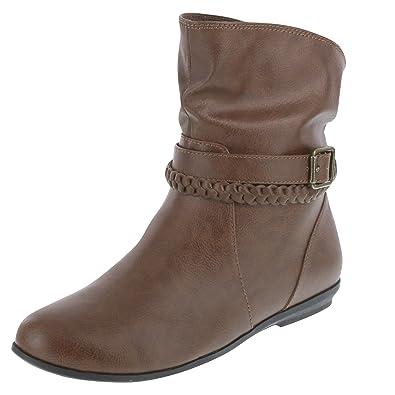 5c01c4001ff90b Lower East Side Women s Cognac Women s Rachel Slouch Boot 5 Regular