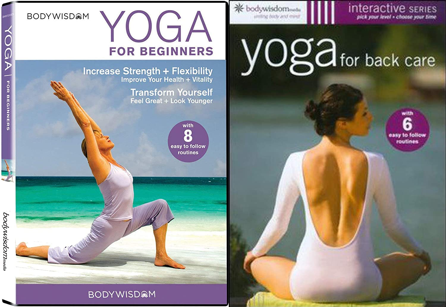 Amazon.com: Yoga for Beginners and Back Care Interactive ...