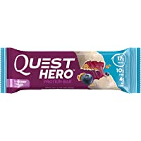 10-Count Quest Nutrition Hero Bar (Blueberry)