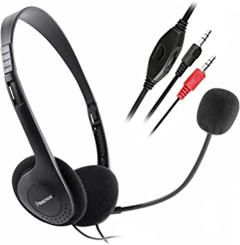 USA Video Chat Cell Phone Mic Headset FOR VOIP SKYPE  For Skype MSN VOIP
