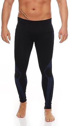 f0d0c71838 2 Stück Lange Herren-Unterhosen Gr. S/ M schwarz/blau, skiunterhose männer  unterhosen männer lange männer unterhose lange unterhosen männer set long  john ...