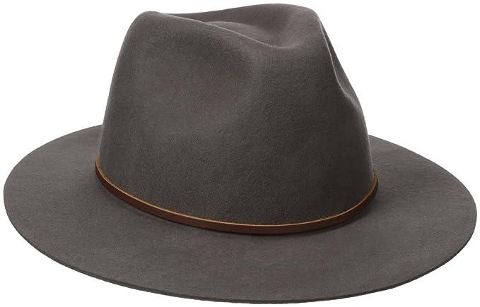 0f77e4cad80f8 Brixton Men s Wesley Fedora Hat