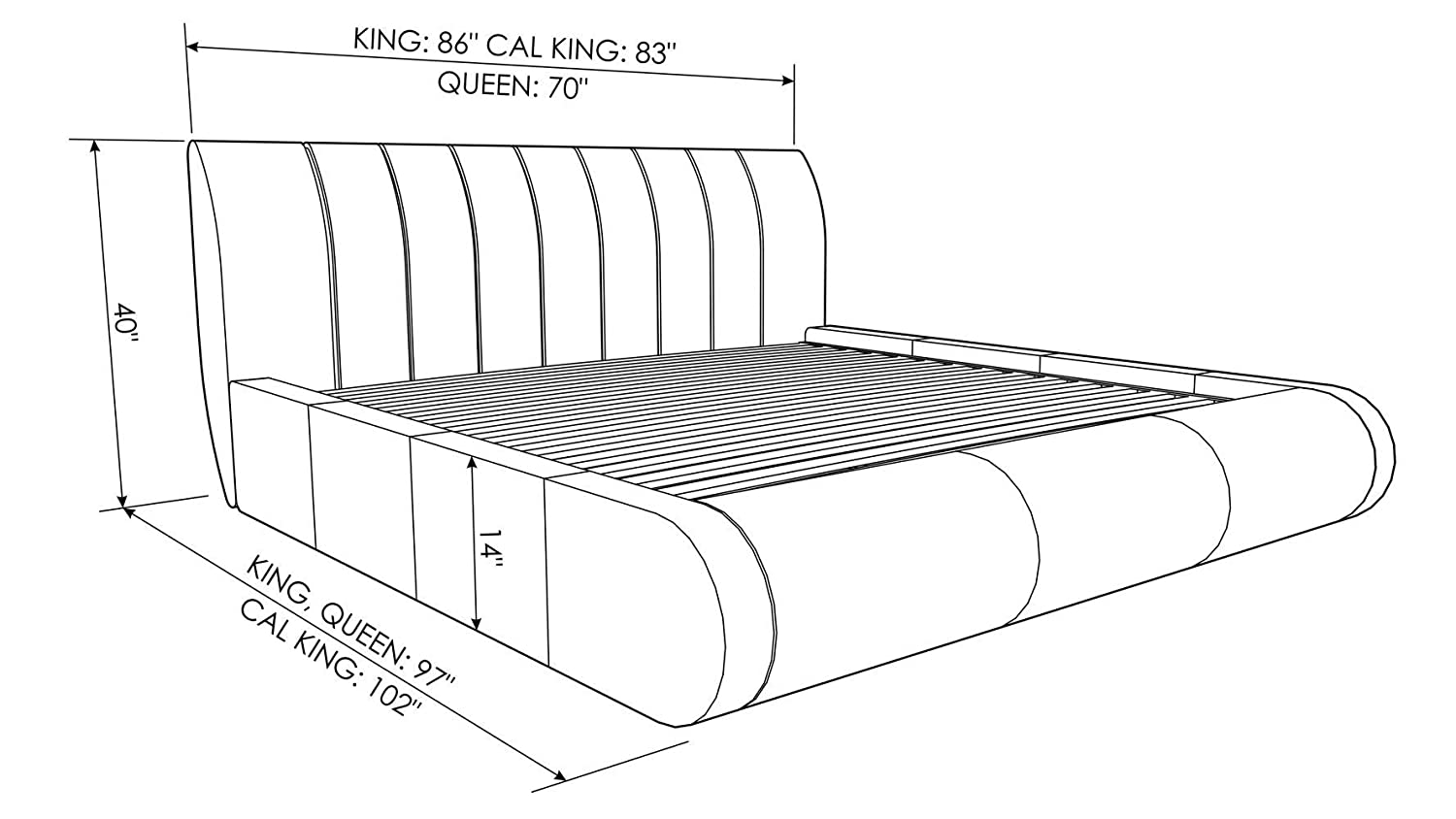 Top 8 Best Curved Platform Beds Reviews in 2020 15