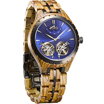 watches horizon hygge brown black chrono hge com