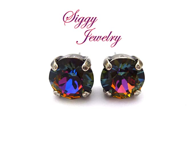 3b855c7f8 Image Unavailable. Image not available for. Color: Swarovski Crystal  Earrings ...