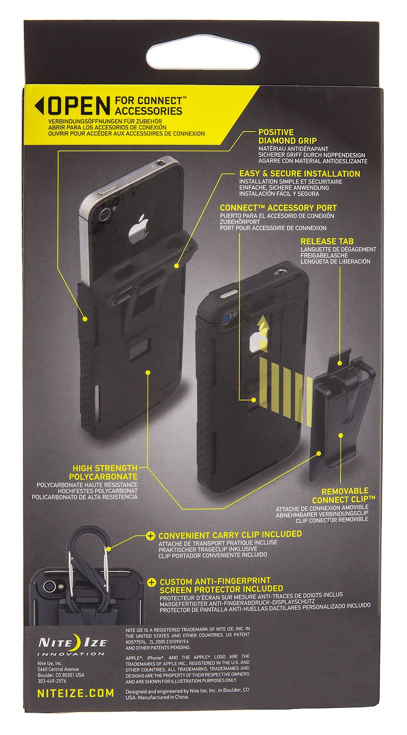 Amazon.com: iPhone 4/4S Connect Case - Blue Translucent - CNT-IP4-03TC: Home Improvement