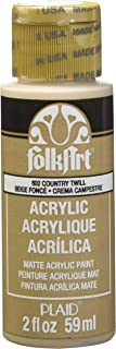 product image for FolkArt Acrylic Paint in Assorted Colors (2 oz), 602, Country Twill
