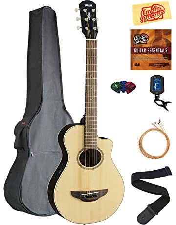 Yamaha APXT2 3/4-Size Acoustic-Electric Guitar - Natural Bundle with Gig