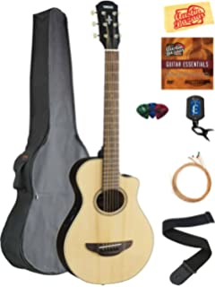 Amazon.com: Yamaha APXT2 DRB 3/4 Scale Dark Red Burst Acoustic ...