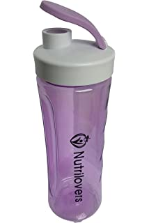 nutril Overs NUTRI de Bottle Botella, coctelera 600 ML