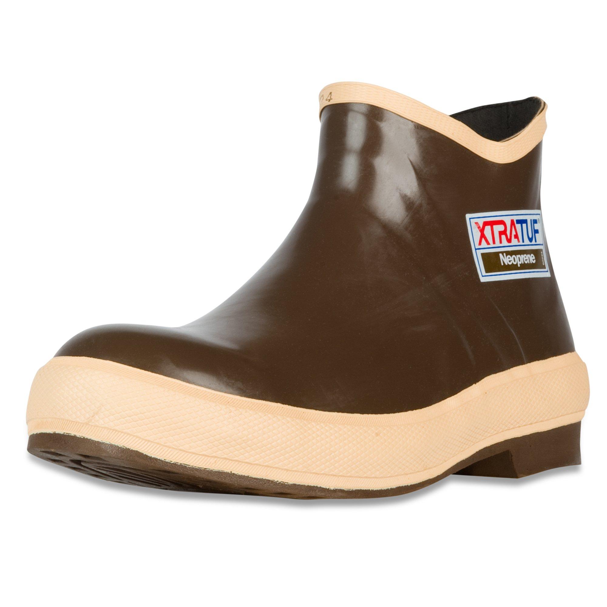 XTRATUF Legacy Series 6'' Neoprene Low Cut Men's Fishing Shoes, Copper (22170G) by Xtratuf