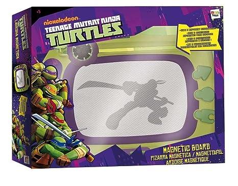 Amazon.com: Nickelodeon Ninja Turtles Magnetic Drawing Board ...