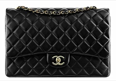 a7bc13754b66 Image Unavailable. Image not available for. Colour: CHANEL Jumbo Lambskin  Classic Double Flap Bag