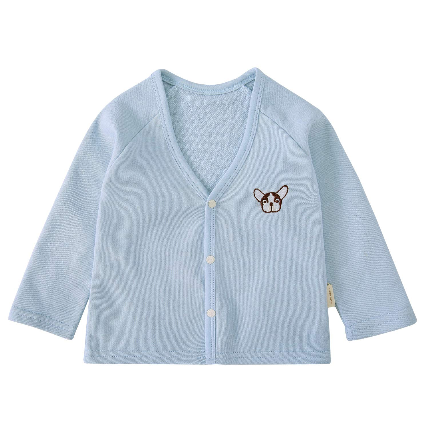 pureborn Baby Boys Girls Cardigan Top Cotton Sweater Shirt Spring Jacket 1-3 Years