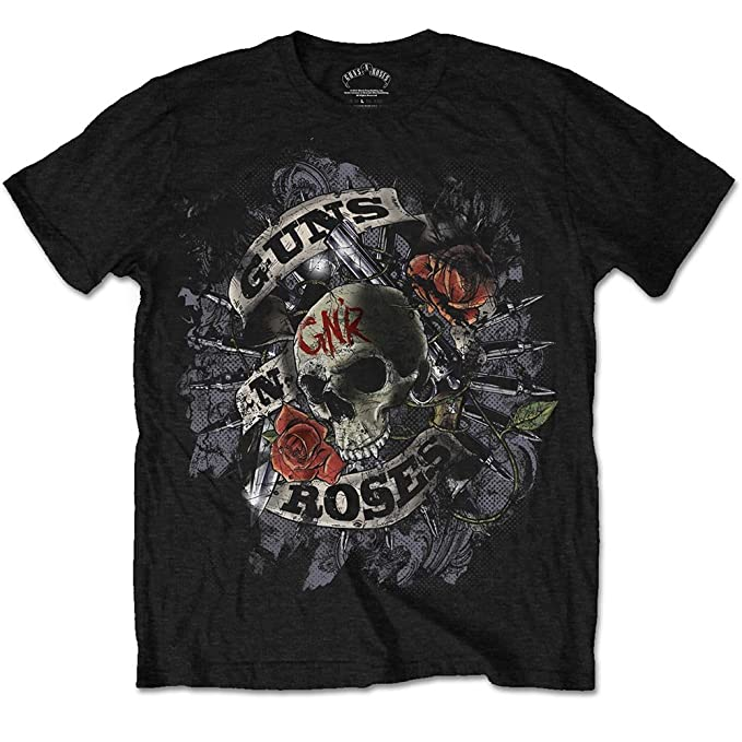 Guns N Roses Firepower Camiseta Negro iXW28
