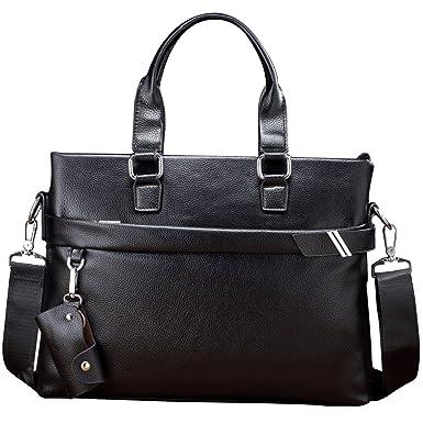 5d4598bb1c16 Yy.f New Business Men Bag Fashion Men s Handbag Shoulder Diagonal Briefcase  Computer Bag Black